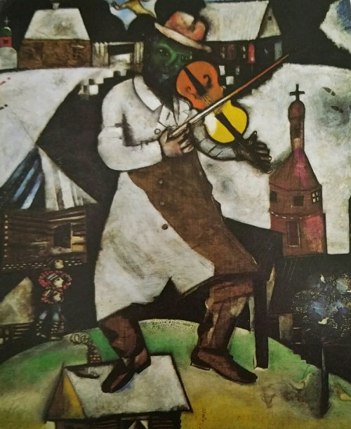 Chagall de violist