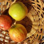 Een villa, gedichten, appels